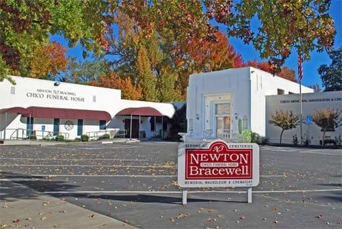 Newton Bracewell Chico Funeral Home exterior